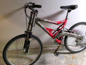Infinity 21 speed mountain bike, (26 Inch tires)
