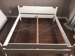 King Ikea slat bed