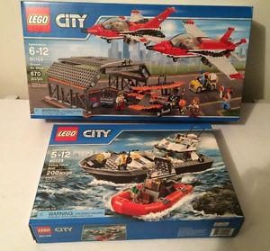LEGO City sets: Airport Air Show, Police Patrol Boat *New*