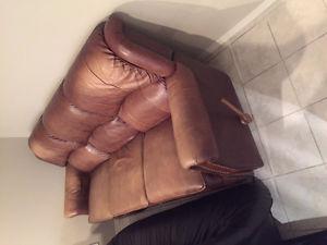 Lazy Boy 3-Piece Reclining Leather Furniture Set