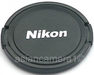 Lens cap For Nikon 62mm - Snap-on Dust Cover