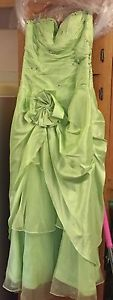 Light Green Prom Dress size