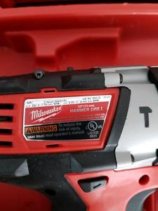 M18 Hammer Drill w/battery