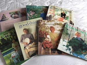 Martha Stewart book Collection