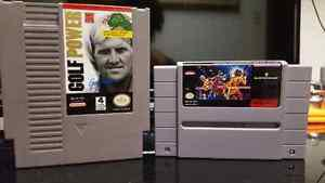 NES Golf Power and SNES Best Of The Best Championship Karate