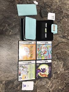 Nintendo DS Lite with 4 games!