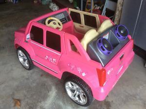 Power Wheels Barbie Cadillac Escalade