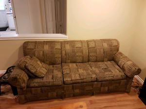 Pull out couch 150