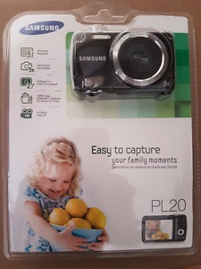 Samsung PL20 Digital Camera Brand New in Original Packaging