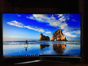 Smart Curved LED Samsung TV for sale