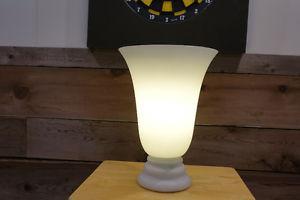 Table lamp–white vase design-contemporary $15