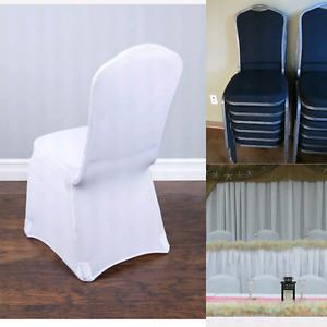 Tablecloths, Table Runners, Chair Covers (Wedding)