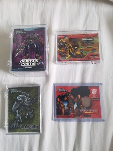 Transformers The Movie cards, complete base set and foil set