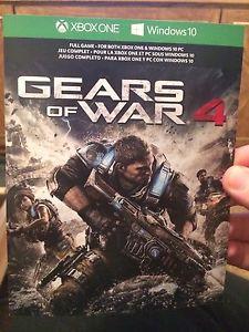 Unused Gears Of War 4 Full Game Code