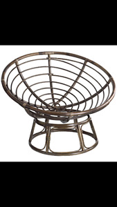 Wanted: Looking for a papasan chair or base.
