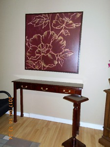 sofa table/plant stand