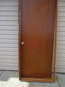 wooden Mahogany door