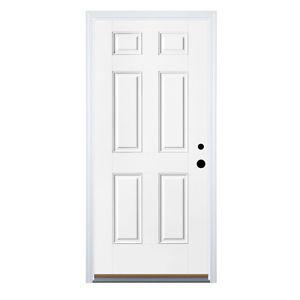 "1 - ""6 Panel Style"" Steel door - 36"" wide"