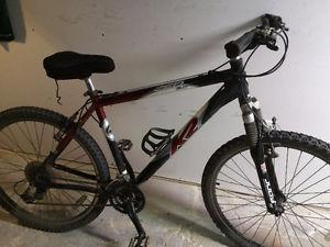 21 speed K2 mountain bike, (26 Inch tires)