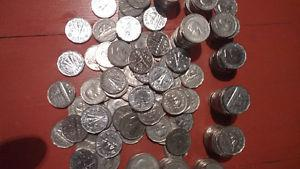 220 nickels from  to