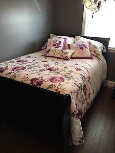 4 pc double Bedroom set