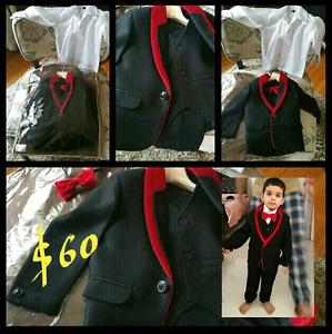 5 piece pant suit for toddler boy (2T - 3T)
