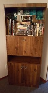 6' tall book shelf.