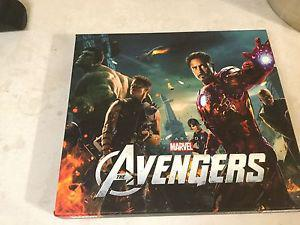 ART OF AVENGERS HARDCOVER OUT OF PRINT.MINT