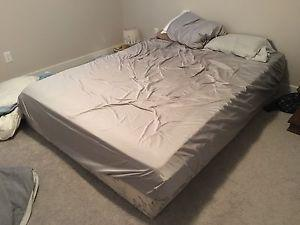 Almost new IKEA Queen Bed