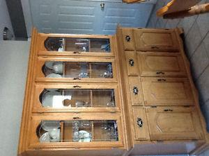 Ashley Solid Oak Dining Room Set