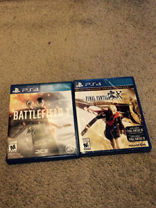 Battlefield 1 Opened and Final Fantasy Type-0 HD Sealed