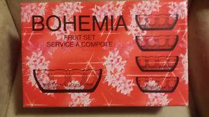 Bohemian 5 Pc. Fruit Bowl Set