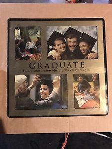 Brand New Black Graduation Picture Frame