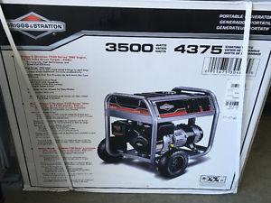 Brand new  watt portable Briggs and Stratton generator