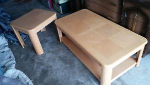 Coffee Table and End Table - Can Deliver