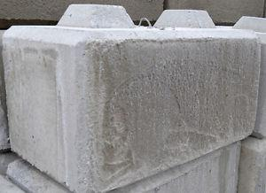 Concrete Stacking Lego Blocks