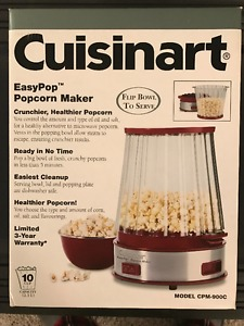 Cuisinart EasyPop popcorn maker - brand new in box