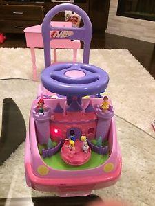 Disney Toddler ride on princess toy