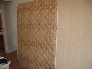 Double bed mattress and box spring & Dresser