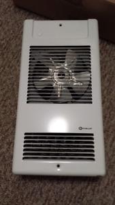 Force fan heater