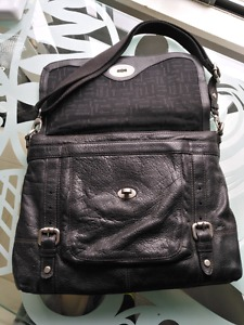 Fossil Women's 15' Leather Laptop Case