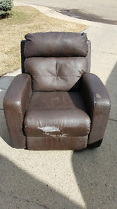 Free Power Recliner (Need Some Cleaning and Recovered)