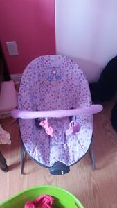 Girls vibrating chair