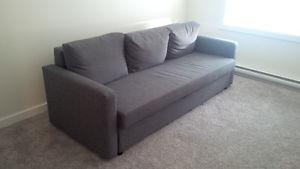 IKEA FRIHETEN Sofa-bed.Storage space under the seat