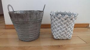 Indoor or Outdoor Decorative Plant Pot Wicker Baskets $5