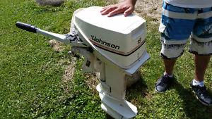 """""""Johnson"""" 15Hp Outboard Motor for SALE"""