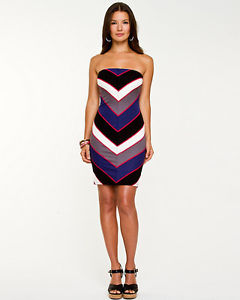 Le Chateau Multi-coloured Tube Dress ~ Size M ~ NWT