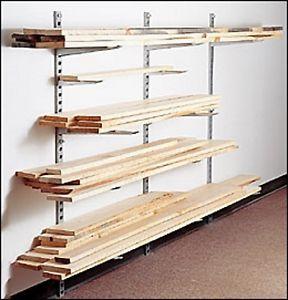 Lee Valley Lumber Storage Rack/System