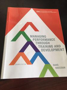 Managing Performance Through Training and Development 7th