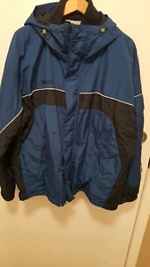 Mens 2 in 1 Columbia Jacket
